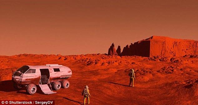 防坠毁无人机百米深渊测试:将火星探测