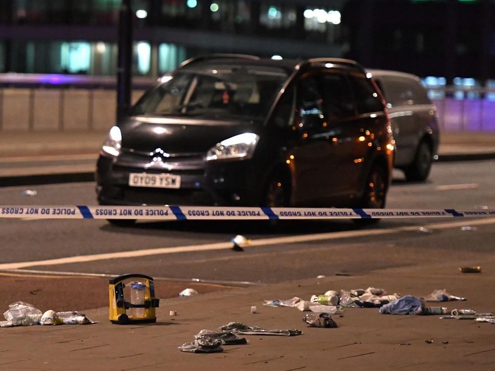 伦敦一日连发三起袭击事件 川普表态