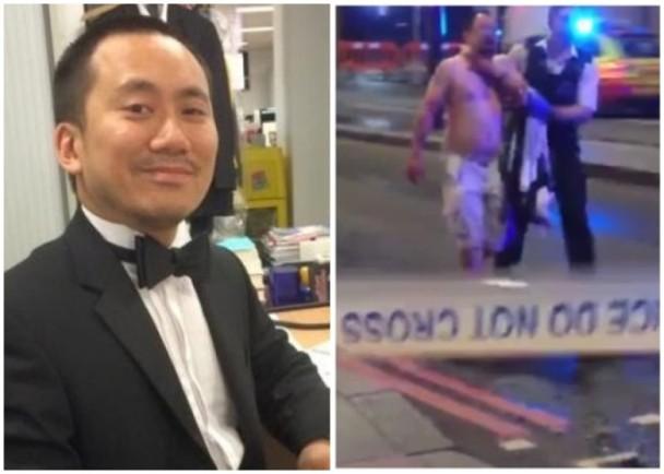 勇敢!亚裔记者在恐袭中用武术以一打三