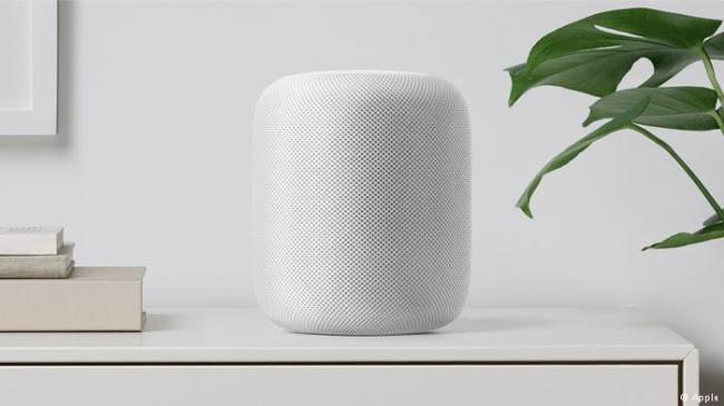 苹果姗姗来迟  发布智能音响HomePod