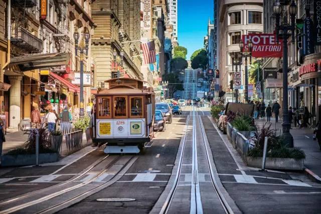 加州最美的风景 竟然有一半都在旧金山