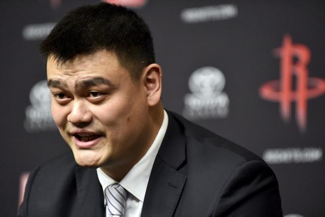 姚明主席厉害  中国篮球想不进步都难