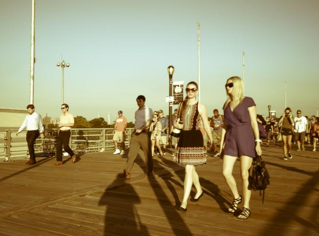 去年的那个夏天去了纽约