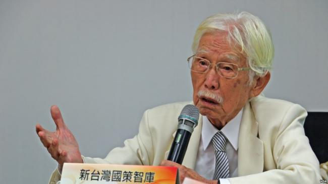 中共官员秘密约见台湾总统府资政辜宽敏