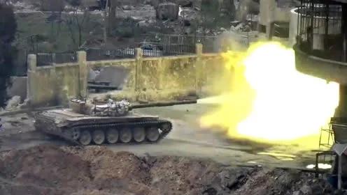 最新:激战大马士革 叙政府军血拼反对派