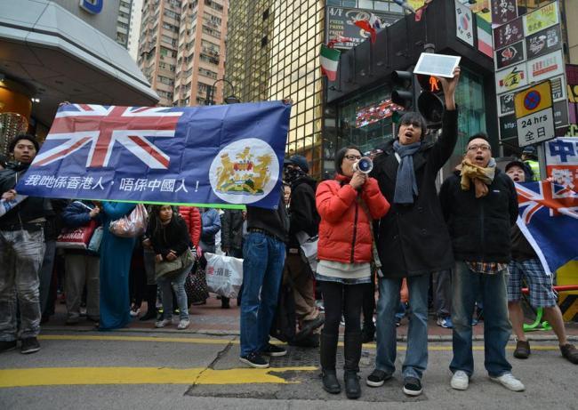 香港回归20年 年轻人挺港独创新高