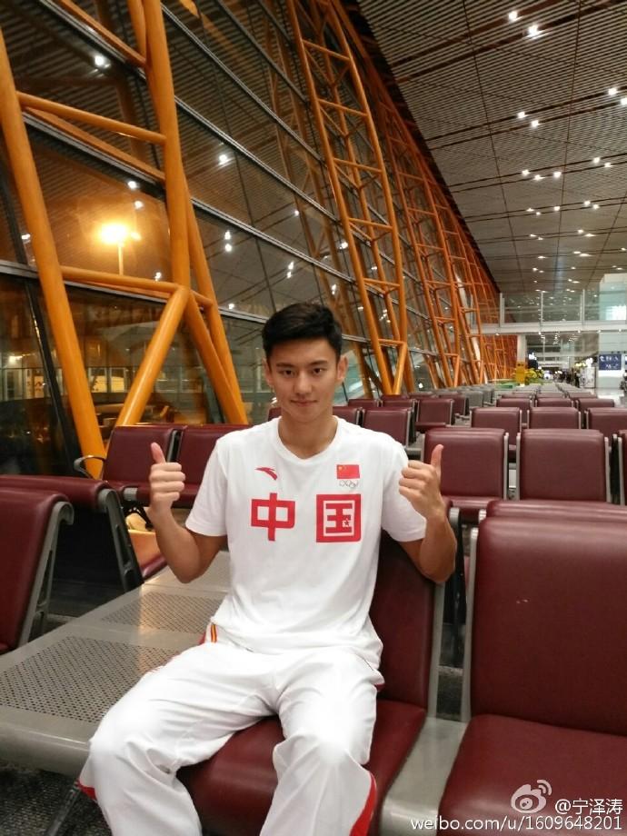宁泽涛将再赴澳洲训练 表态不涉娱乐圈
