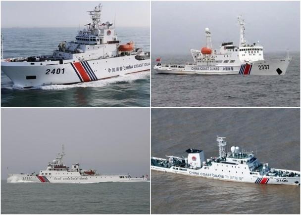 中国海警船连续两日巡钓岛 日方持续监视