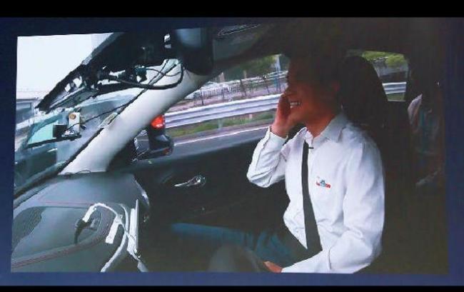 李彦宏首次回应无人车上五环事件