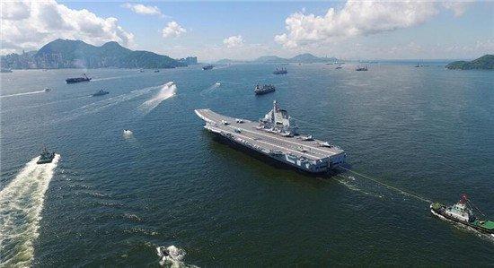 中美海军怼上了?曝辽宁舰被美舰跟踪