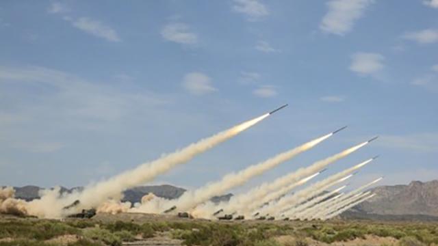 解放军进入一级战备 火箭进入发射位置