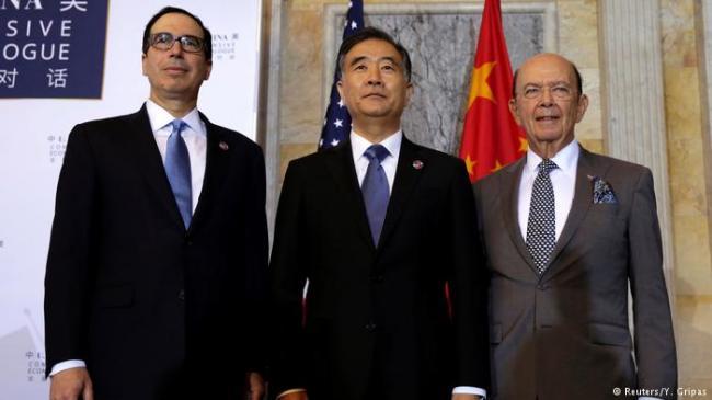 """经济对话:美方强势、中方""""打太极"""""""