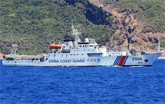 还没习惯?日炒作中警船连续14天巡钓岛