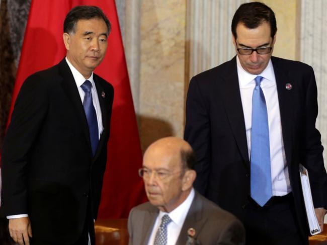中美首次经济对话谈崩 汪洋取消记者会