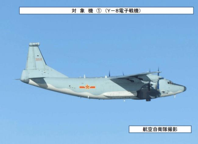 大手笔:8架轰6和2架情报战机穿宫古海峡