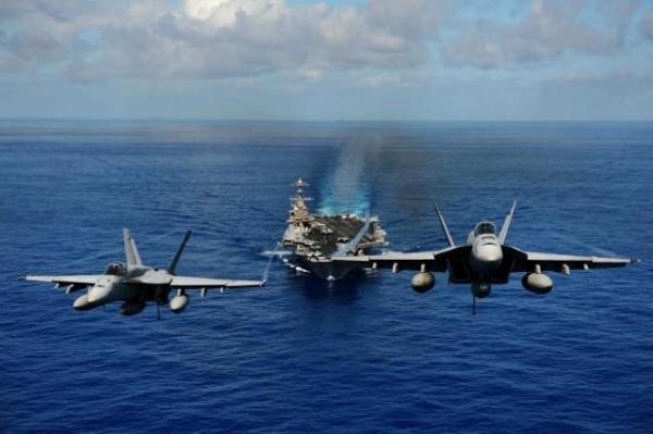 """美军要在南海""""例行""""巡航"""