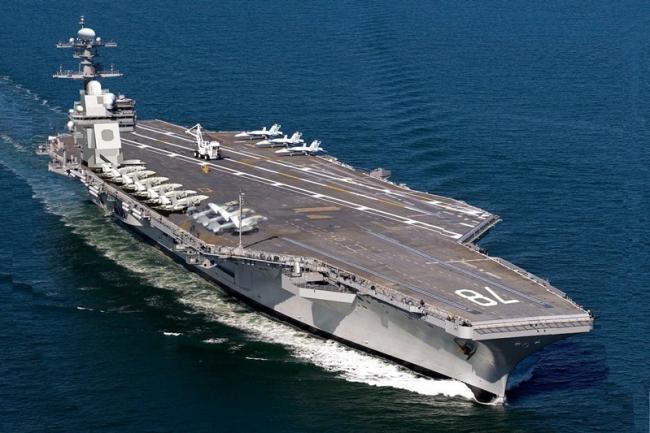 福特号与辽宁舰比一比 中国航母落后多少