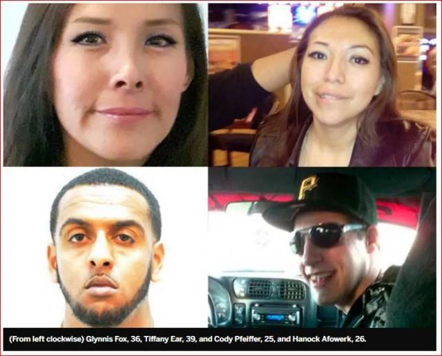 24岁华裔女子涉嫌杀4人   全国通缉被捕