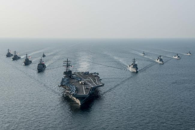 中国军队和谁联手  仍不是美军对手?