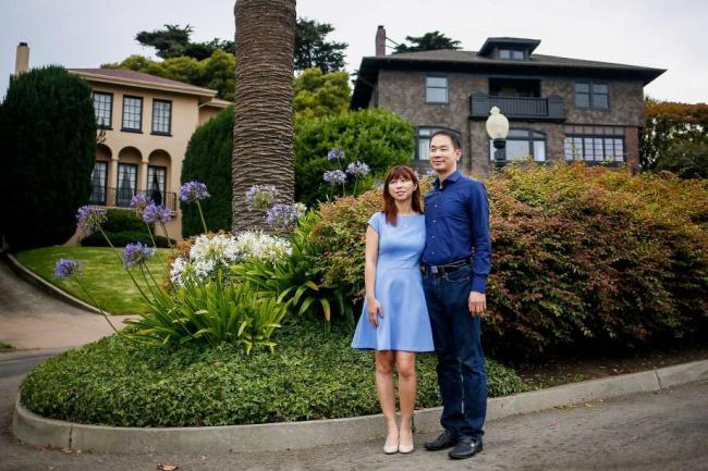 华裔夫妇9万刀拍下旧金山一条街