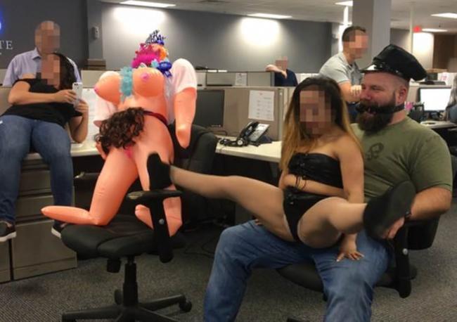 华尔街公司办性爱派对 她不爽提告