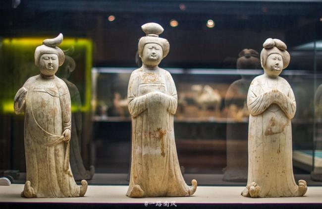 游西安博物院 感受以肥为美的唐代风情