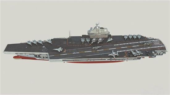 中国第二艘国产航母又快要造好了