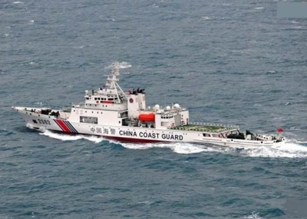 华2艘海警船巡钓岛 日媒称已连续5天发现