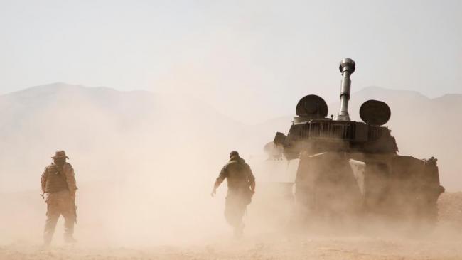 叙利亚政府军包围沙漠中IS,然后