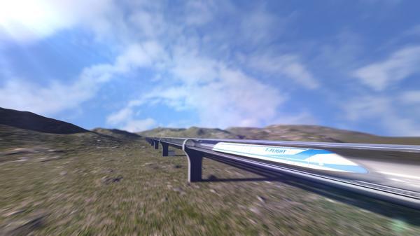 中国将造最高时速4千公里磁悬浮列车