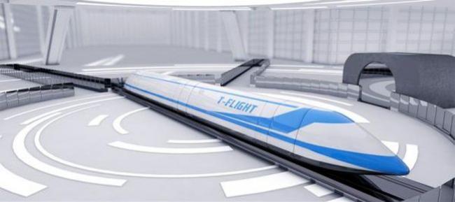 快客机5倍 中国研发时速千公里高速飞车