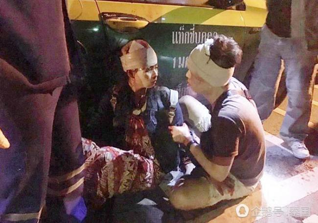 2名中国游客在泰国遭劫 竟被砍成重伤
