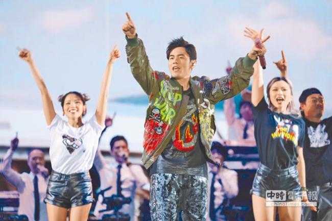 周杰伦巡演竟成台湾岛内政治问题?