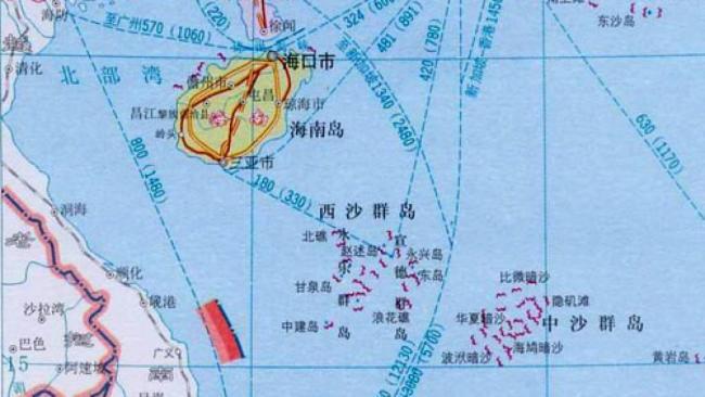 中国在西沙实弹演习  越南要求停止