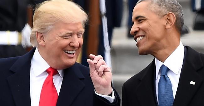 奥巴马留给川普的神秘信件曝光