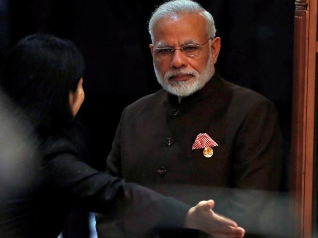 被中国低规格对待  印度不断拆台