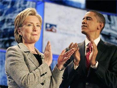 希拉里:奥巴马和他是我败选的祸首