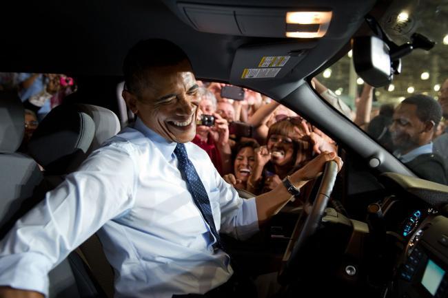打开班房门见到奥巴马 学生惊喜目瞪口呆