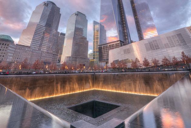 911十六周年 世贸遗址六次默哀平抚旧伤
