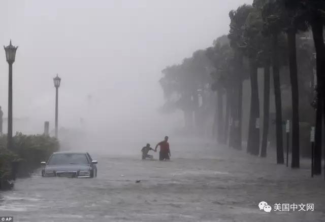 飓风过境如人间地狱 华人亲述逃亡36小时