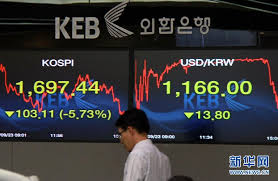 股市一天蒸发万亿,韩国还能挣扎多久?