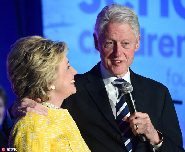 希拉里回应 克林顿出轨 为什么不离婚?