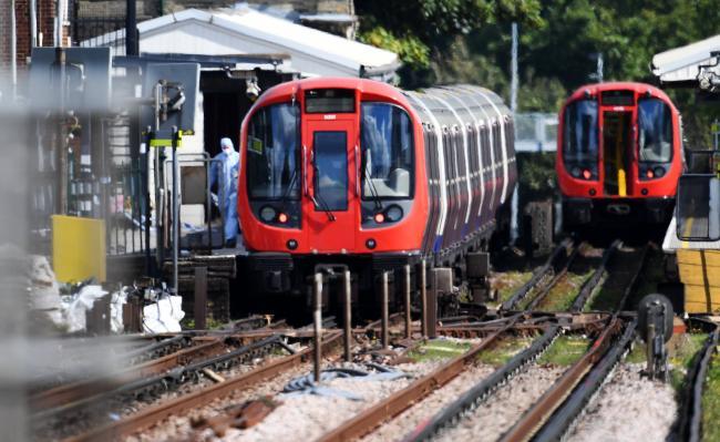 伦敦地铁爆炸现场惨烈 IS:我们干的