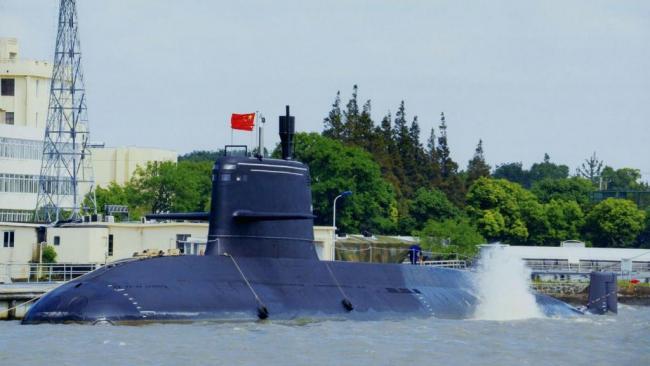 中国潜水艇消音技术超越俄罗斯