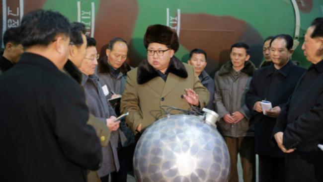 金正恩下令  军队实战部署核弹头