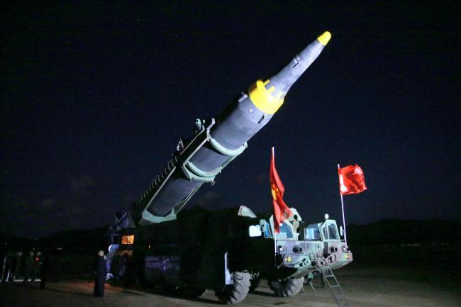 金正恩发声:最新型导弹已形成战斗力