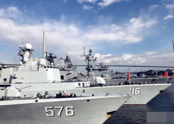 中俄军演突破第一岛链!美韩在旁对着干