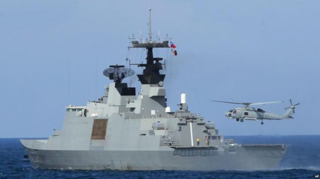 美军舰停靠台湾有谱,写入美国防授权法
