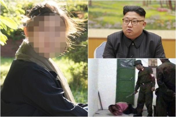 朝鲜高射炮决11音乐家 血肉横飞坦克辗尸