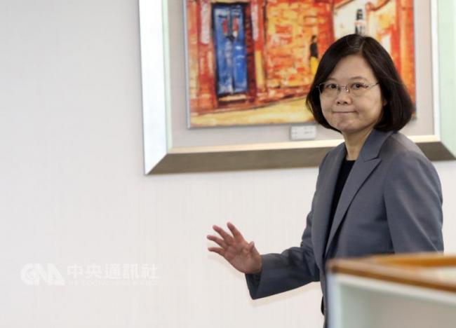 东北亚情势紧张 蔡英文:台湾不当局外人